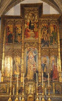 bijzonder altaarstuk Santa Maria de Jesus