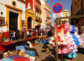 Sevilla, markt 'El Jueves' @ Calle de Feria | Sevilla | Andalucía | Spanje