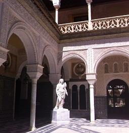 Sevilla monumenten casa-de-pilatos