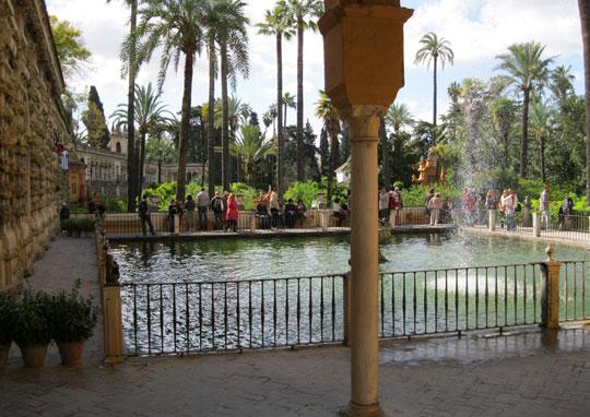 Sevilla_real-alcazar-tuin