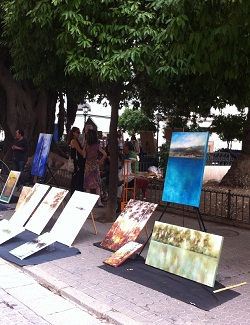 Kunstmarkt Plaza del Museo