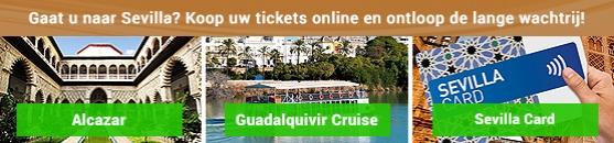 Tickets en kortingen Sevilla en Andalusië