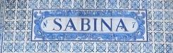 Accessoires bij Sabina