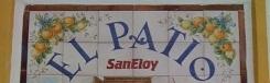 Speelse trappen bij tapasbar San Eloy