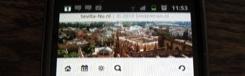 Sevilla-Nu ook op je mobiel!