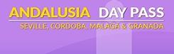 Dagpas Andalusie voor bezoek aan Sevilla, Granada, Cordoba en Malaga